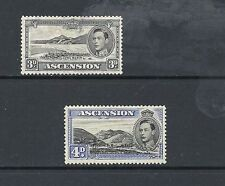 Single George VI (1936-1952) Ascension Island Stamps