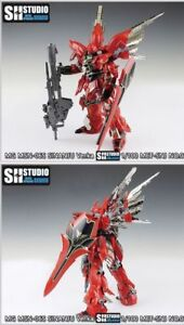 Armor Upgrade Etching Detail  For BANDAI MG 1/100 MSN-06S Sinanju VER.KA  Gundam