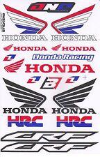 1 sh. hrc honda wing crf racing one ind decal sticker vinyl die cut