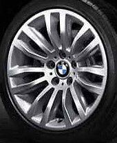 "BMW OEM E84 X1 SUV 18"" LA Wheel Double Spoke 321  Set of 4"