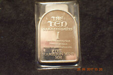 "1978 ""The Ten Commandments 1"" Hamilton Mint...only 250 minted..very rare!...#679"