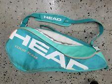 """Head Tour Team 6 Racket Tennis Bag Teal Blue Green 6R Cct 31"""""""