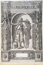 GIOVANNI BATTISTA FONTANA (1524-1587 Italie)  DUC DE BAVIERE,  Gravure