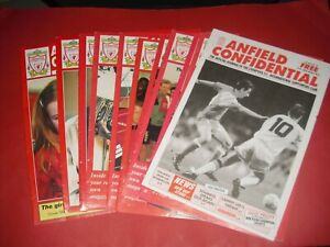 ANFIELD CONFIDENTIAL LIVERPOOL JOURNAL MAGAZINE - CHOOSE FROM LIST