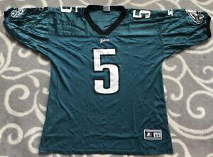 Philadelphia Eagles Donovan McNabb #5 Champion Screen Printed Jersey Size 52