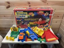 Shelcore Trouble Tracks Interactive Roadway Vintage 1991 Collectible Gift
