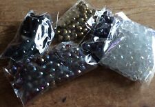 Assorted Glass Faceted Beads  Approx. 450, Approx. 12mm
