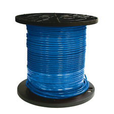 Southwire Thhn Wire 500 Ft Heatuv Resistant Waterproof Single Conductor Blue