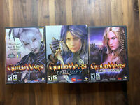 Guild Wars (2005), Factions (2006), Eye of the North (2007) (PC)