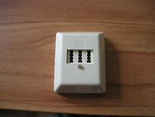 5x  Telefonsteckdosen TAE  Aufputzdosen NFF