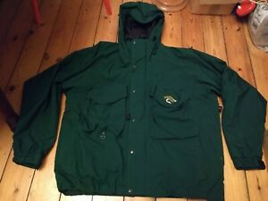 Touchstone DL 2 Jacket XL Fishing Fly  Wading Green Waterproof