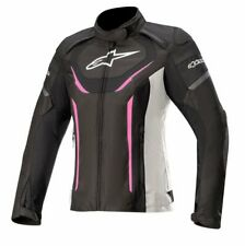 Alpinestars Stella T-Jaws V3 Waterproof Ladies Jacket Black / White / Fuchsia