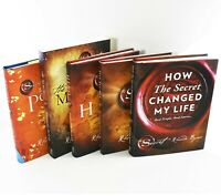 Secret Series 5 Books Non Fiction Young Adult Collection Set By Rhonda Byrne