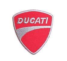 DUCATI Big Bike Embroidered Patch Iron Sew on Patch Sport 2.8x3.0 In.