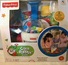 Fisher Price CORN POPPER GAME 2 in 1 Race N Chase & Bingo Pop Preschool Toy NEW
