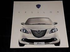 Lancia Ypsilon prospekt/brochure/folder 2011