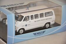 NEO 46940 - Dodge Sportsman Police Ambulance San Diego - 1973   1/43