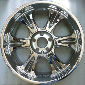 Asa RT 6 Chrome Alloy 8, 5x20 ET38 5x120 New Rt 60 BMW X5 X3 X6 Tyre Cerchione