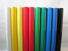 Aslan Plotterfolie Starterset für Schneideplotter / Plotter 10 Farben 10 Meter