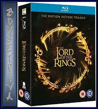 THE LORD OF THE RINGS -Complete Trilogy 1 2 3 *BRAND NEW BLURAY***