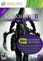 Darksiders II: Limited Edition (Xbox 360, 2012) Complete w/ manual