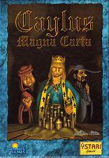 Caylus Magna carta Gioco di Carte Edizione Tedesca RARA! ottime condizioni 24h post!