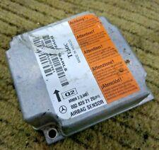 Mercedes W210 E Class SRS Airbag Sensor Control Module Temic ECU 0028202126