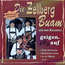 DIE ZELLBERG BUAM : DIE ZELLBERG BUAM GEIGEN AUF / CD - NEU