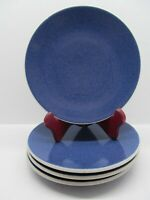 "Sasaki Colorstone Sapphire textured 7 ½"" Salad Plate  Bundle of 4"