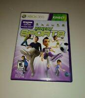 Kinect Sports (Microsoft Xbox 360, 2010) COMPLETE EVERYONE NTSC SOCCER BOWLING