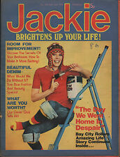 Jackie Magazine 31 May 1975 No.595   Kenny   The Bay City Rollers   Gary Glitter