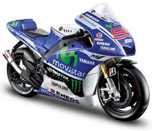 Maisto 1:10 YAMAHA 2014 YZR-M1 MotoGP 99 Jorge Lorenzo Motorcycle Bike Model