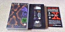 The X Files Unopened File UK PAL VHS VIDEO 1995 David Duchovny Gillian Anderson