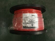 1.5mm Red 2 Core + Earth FP200 Fire Alarm & Em Lighting Fireproof Cable Per M