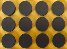 Case: Media Disc Foam Grip Dots For DIY Cases - 12 For 1 Disc Each : Black