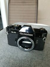 Rolleiflex Sl 35 Black In Good Working Condition