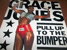 1985 7 INCH GRACE JONES- PULL UP THE BUMPER-IS240-VG CON.