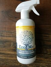 Eco Me Stainless Steel Polish Lemon Fresh 16 Ounce, Plant based, Natural Cleaner