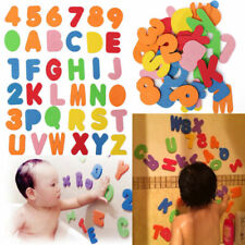 LEARN 36PC FOAM BATH NUMBERS AND LETTERS TILE CHILD BABY KIDS BATH TOY FUN JF Bath Toys Baby Bathing/Grooming