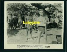 JOHNNY SHEFFIELD VINTAGE 8X10 PHOTO 1953 BOMBA AND THE JUNGLE GIRL