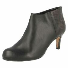 Clarks 100% Leather Stiletto Mid (1.5-3 in.) Women's Heels