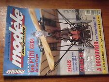 $$y Revue modele magazine N°581 Tiger Moth  Sanyo RC-2400  P'tits gros  Milan