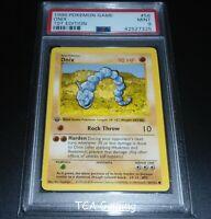 PSA 9 MINT Onix 56/102 1ST EDITION Base Set SHADOWLESS Pokemon Card