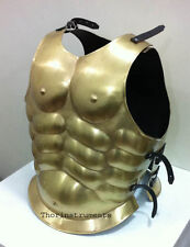 ROMAN MUSCLE ARMOR ANTIQUE BRASS COLLECTIBLE GREEK MUSCLE ARMOR COSTUME JACKET