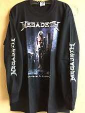 Megadeth long sleeve M shirt Testament Artillery Thrash metal Metallica Exodus