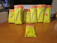 ATLAS N SCALE LARGE LOT OF TRIAN TRACK NEW VINTAGE *READ* MADE IN U.S.A.