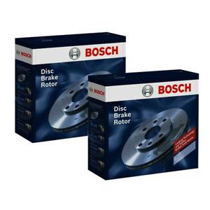 Bosch Front Brake Disc Rotors 236mm PBR2032