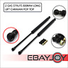 qty(2) Gas Struts for Trailer Box Caravans Camper Canopy 830MM Long 500 Newtons
