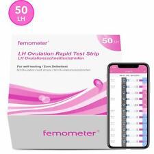 50 X Tests D'Ovulation Pour Fermomètre, 50 Lh Opk, Bâtonnets Test Sensibles P