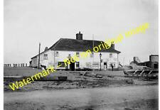 "Slaughden nr Aldeburgh, Suffolk - Three Mariners Inn. Early 1900s. 7"" x 5"" Photo"